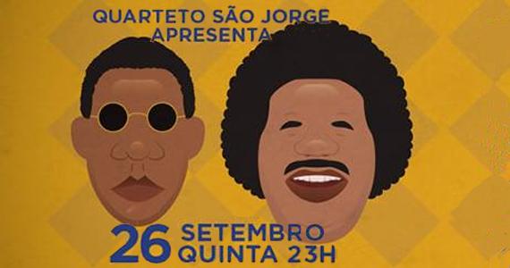 Quarteto São Jorge faz tributo a Tim Maia e Jorge Ben no Beco 203 Eventos BaresSP 570x300 imagem