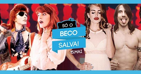 Só o Beco Salva! com Double Vodka e VIP para os 150 primeiros no Beco 203 Eventos BaresSP 570x300 imagem
