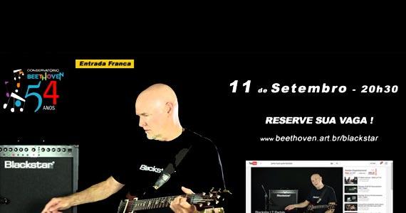 Conservatório Beethoven apresenta Master Class de Guitarra com James Hayes Eventos BaresSP 570x300 imagem