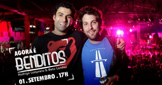 Banda Benditos e Toni Garrido se apresentam na quadra da Rosas de Ouro, no Limão Eventos BaresSP 570x300 imagem