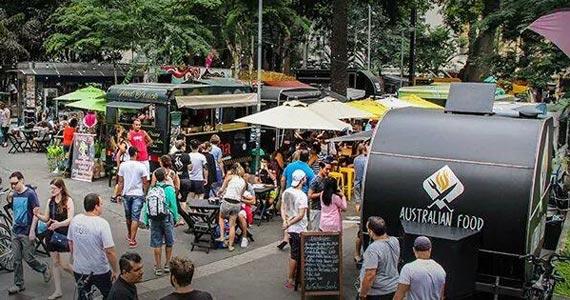 Domingo é dia de show de samba e food trucks na Paulista com Benê Food des Arts Eventos BaresSP 570x300 imagem