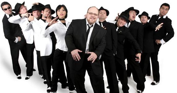 Banda Big Time Orchestra se apresenta no palco do Bourbon Street Eventos BaresSP 570x300 imagem