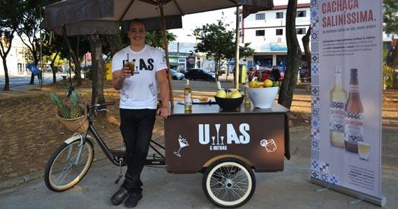 Bike itinerante tem drinks com cachaça premium por R$ 10 Eventos BaresSP 570x300 imagem