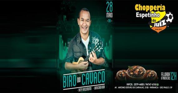 Biro do Cavaco faz show no Bar do Espetinho do Juiz no sábado Eventos BaresSP 570x300 imagem