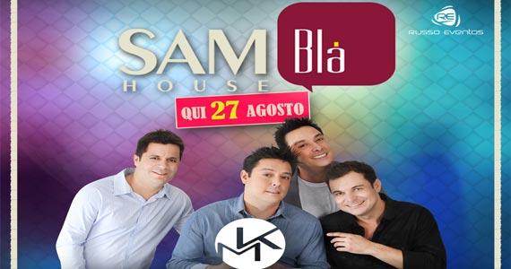 Blá Bar recebe show ao vivo do Grupo Karametade tocando sucessos Eventos BaresSP 570x300 imagem