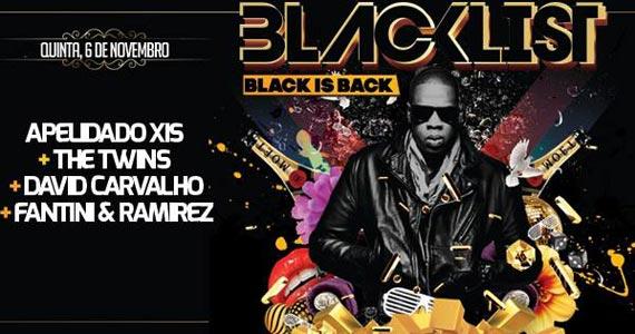 Festa Blacklist com as batidas da black music esta noite na Lab Club Eventos BaresSP 570x300 imagem