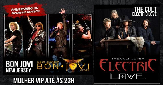 Bandas Bon Jovi New Jersey e  The Cult Cover Electric Love no Blackmore Eventos BaresSP 570x300 imagem