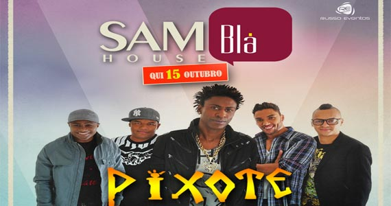 Grupo Pixote canta sucessos no palco do Blá Bar nesta quinta feira Eventos BaresSP 570x300 imagem