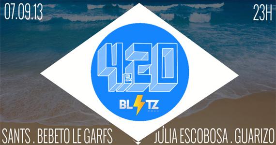 Festa 4e20 agita o feriado na Blitz Haus neste sábado Eventos BaresSP 570x300 imagem