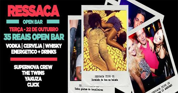 Ressaca Open Bar agita a noite de terça-feira com DJs na Blitz Haus Eventos BaresSP 570x300 imagem