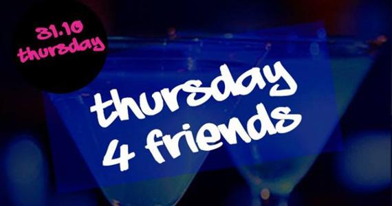 DJs animam a Noite Thursday 4 Friends na Blue Velvet  Eventos BaresSP 570x300 imagem
