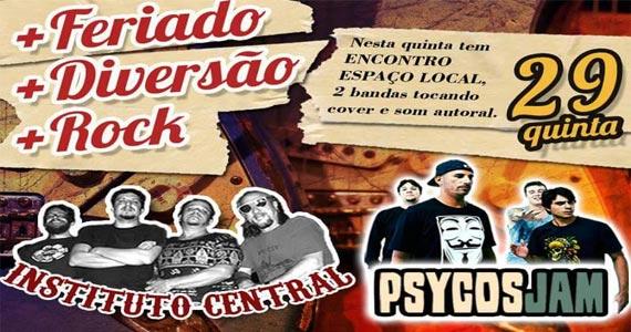Bandas Psycos Jam  e Instituto Central agitam o Blues on The Rocks Eventos BaresSP 570x300 imagem