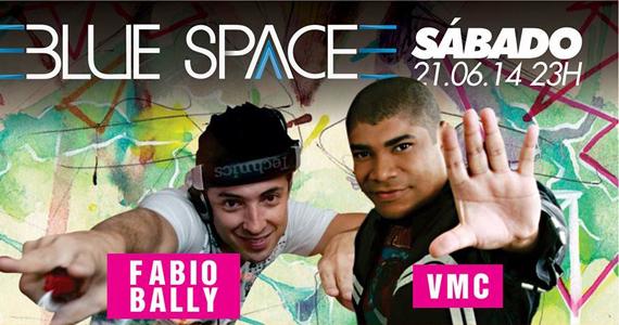 Blue Night com o DJs Fabio Bally e VMC neste sábado na Blue Space Eventos BaresSP 570x300 imagem