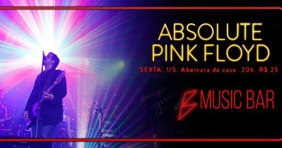 Comemoração de 1 do B Music Bar terá show de Pink Floyd Cover Eventos BaresSP 570x300 imagem