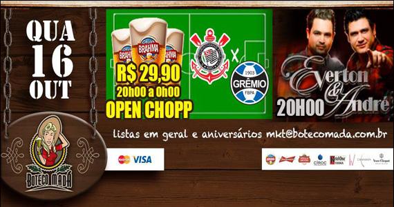 Transmissão dos melhores lances do futebol no Boteco Madá Eventos BaresSP 570x300 imagem