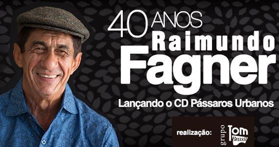 40 anos de Raimundo Fagner com lançamento do CD Pássaros Urbanos no Teatro Bradesco Eventos BaresSP 570x300 imagem