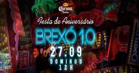 Aniversário de 1 ano do Brexó Bar oferece drinks e petiscos no domingo Eventos BaresSP 570x300 imagem