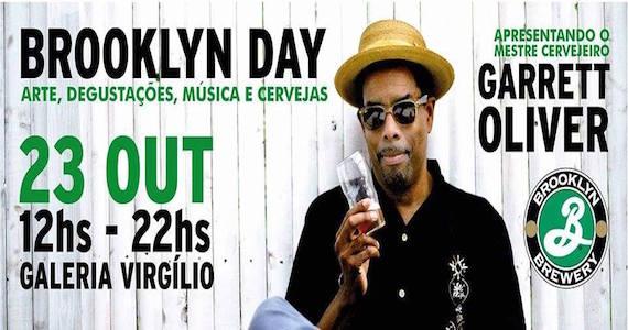 Brooklyn Day promove arte, degustações, música e cervejas na Galeria Vitgilio Eventos BaresSP 570x300 imagem