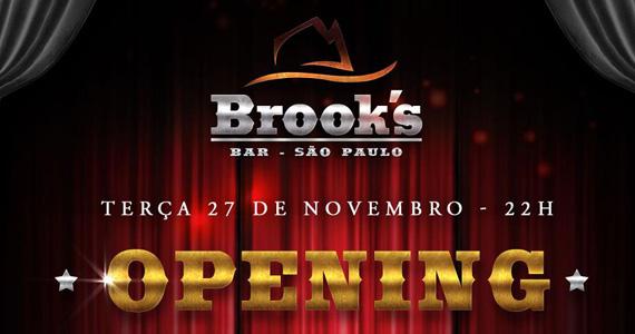 Festa de inauguração da Brook's Bar acontece nesta terça-feira Eventos BaresSP 570x300 imagem