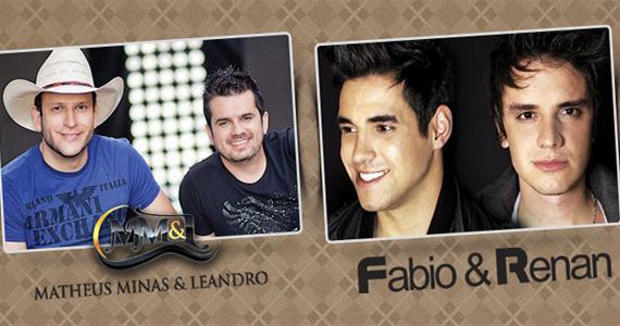 Matheus Minas & Leandro e a dupla Fabio & Renan nesta quarta na Brooks Bar Eventos BaresSP 570x300 imagem