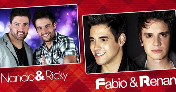 Brooks Bar recebe Fabio & Renan e Nando & Ricky para agitar o sábado Eventos BaresSP 570x300 imagem