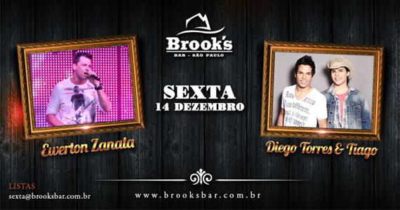 Ewerton Zanata e a dupla Diego Torres & Tiago cantam na Brook's Bar Eventos BaresSP 570x300 imagem