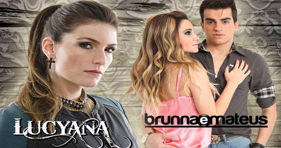 Os sucessos do sertanejo com Lucyana e Brunna & Mateus no palco do Quintal do Espeto em Moema Eventos BaresSP 570x300 imagem
