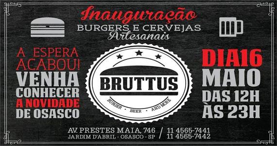 Inauguração do Bruttus Burger oferece chopp e lanches artesanais  Eventos BaresSP 570x300 imagem