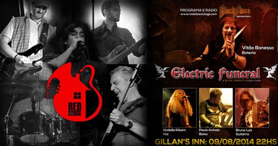 Bandas Red House e Electric Funeral se apresentam neste sábado no Gillan's Inn Eventos BaresSP 570x300 imagem