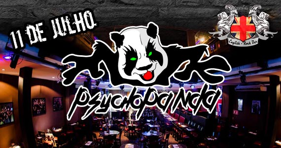 Banda Psychopanda comanda a noite de sexta com muito rock no Gillan's Inn Eventos BaresSP 570x300 imagem