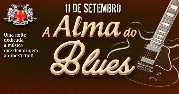 Projeto A Alma do Blues anima a noite de quinta-feira com muita música no Gillan's Inn Eventos BaresSP 570x300 imagem
