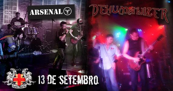 Bandas Arsenal Y e Dehumanizer apresentam seu som neste sábado no Gillan's Inn Eventos BaresSP 570x300 imagem