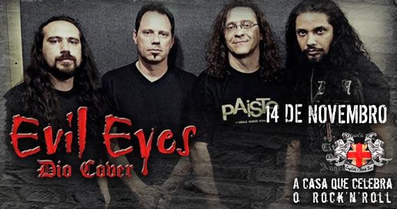 Banda Evil Eyes faz tributo à Ronnie James Dio nesta sexta-feira no Gillans Inn Eventos BaresSP 570x300 imagem