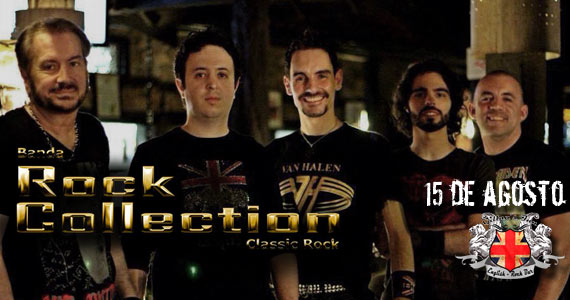 Banda Rock Collection se apresenta nesta sexta-feira no palco do Gillans Inn Eventos BaresSP 570x300 imagem