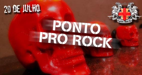 Gillans Inn English Bar tem mais uma edição do projeto Ponto Pro Rock Eventos BaresSP 570x300 imagem