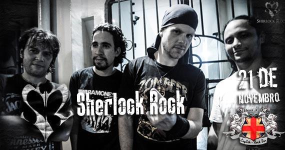 Banda Sherlock Rock comanda a noite de sexta-feira no Gillan's Inn Eventos BaresSP 570x300 imagem