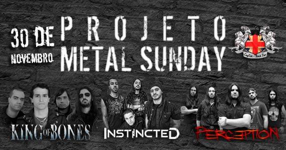 Estreia do projeto Metal Sunday com bandas autorais convidadas para animar o domingo no Gillan's Inn Eventos BaresSP 570x300 imagem