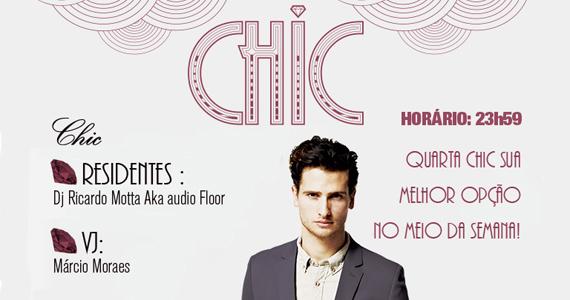 Festa Chic recebe a festa Chic para agitar a noite de quarta-feira Eventos BaresSP 570x300 imagem