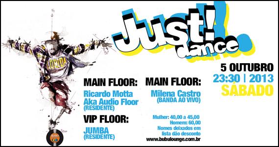Festa Just Dance agita o sábado com convidados na Bubu Lounge Eventos BaresSP 570x300 imagem