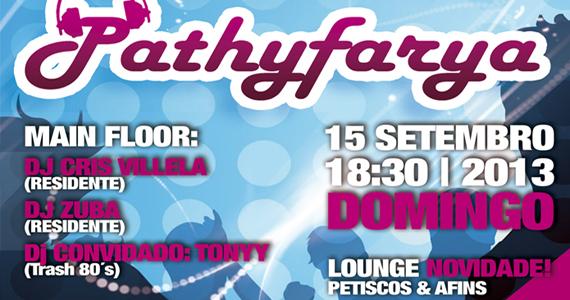 Domingo é dia de curtir a Festa Pathyfarya na pista da Bubu Lounge Eventos BaresSP 570x300 imagem