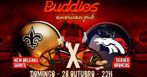 Buddies transmite jogos e oferece diversos brindes aos torcedores Eventos BaresSP 570x300 imagem