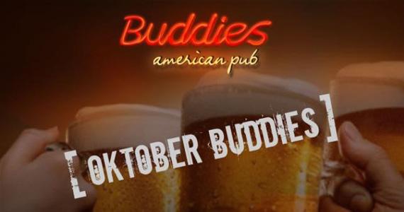 Buddies American Pub apresenta no domingo a Festa Oktoberbuddies Eventos BaresSP 570x300 imagem