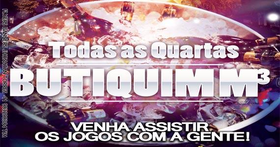 Butiquim M3 realiza transmissão dos Jogos de Futebol animando as quartas Eventos BaresSP 570x300 imagem