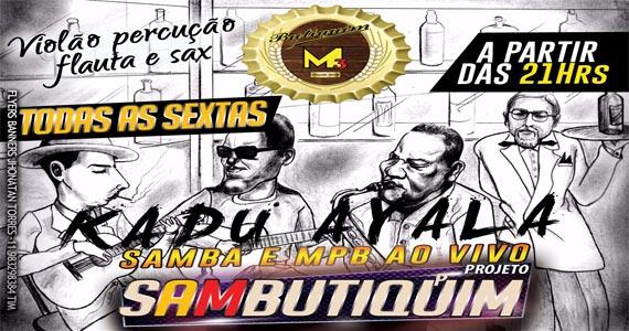 Butiquim M3 recebe o show ao vivo do cantor Kadu Ayala na sexta Eventos BaresSP 570x300 imagem