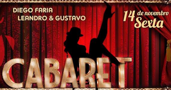Cabaret com shows de Diego Faria e Leandro & Gustavo na balada Brook's Eventos BaresSP 570x300 imagem