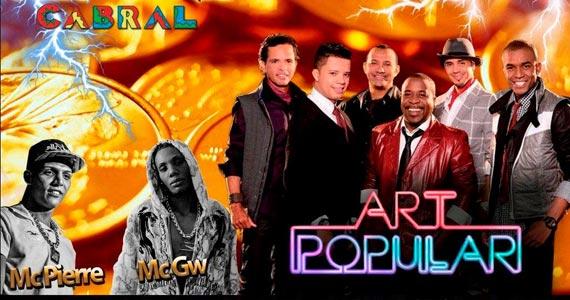 Segunda do Pagode da Transcontinental FM com Art Popular e convidados no Cabral Eventos BaresSP 570x300 imagem