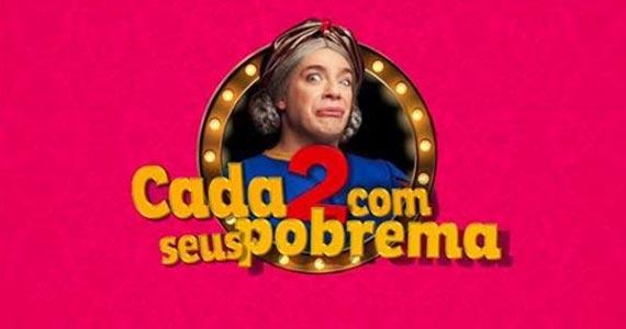 'Cada Dois Com Seus Probrema' estrelado por Marcelo Médici no Teatro Frei Caneca Eventos BaresSP 570x300 imagem