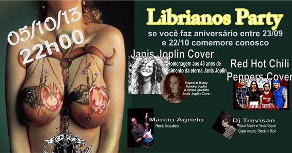 Librianos Party agita o sábado no Café Aurora com Djs e bandas convidadas - Rota do Rock Eventos BaresSP 570x300 imagem