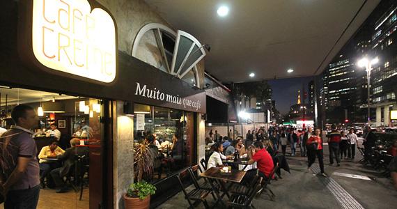 Café Creme oferece happy hour, almoço e café da manhã todos os dias  Eventos BaresSP 570x300 imagem