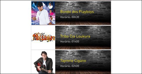 Shows com Bonde dos Playboys, Tribo Cia Loukura e outros no  Caipfrutas Alcooiris Eventos BaresSP 570x300 imagem